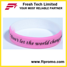 OEM подарочные изделия Пользовательские силиконовые браслеты для спорта