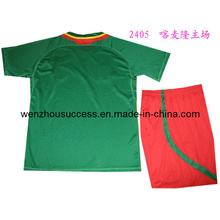 Soccer Uniform (Cameroon home Jersey and short)