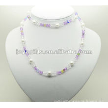 Fashion Hematite Glass Beads Wrap