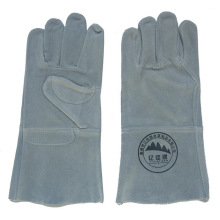 Cow Split Leather Safety Working Welding Gloves with Ce