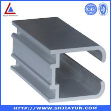 6063 Extrudez le profilé en U en aluminium pour la fenêtre et la porte