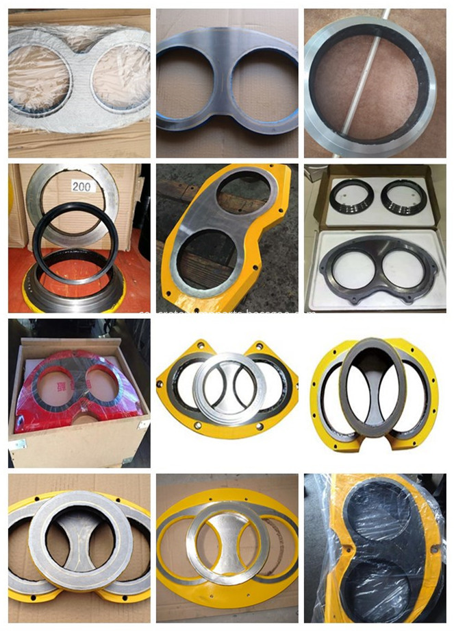 Concrete Pump Wear Plate And Cutting Ring Complete