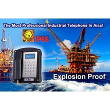 Atex Proof Teléfono a prueba de explosiones para el aceite de la mina de gas