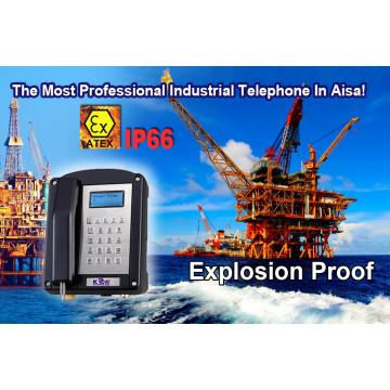 Atex Proof Expolish-Proof Phone for Mine Oil Gas