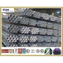 """1-1 / 4 """"de acero de andamios de suministro de tubería a JIS, KS, BS, ASTM, AS y otros tubos de acero / tubo de 1/2"""" a 8 """""""
