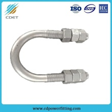 Professional for Link Fitting,Link Fitting For Substation,Connecting Fitting,Link Fitting For Power Plant Manufacturers and Suppliers in China U Type Hot Dip Galvanized U-Bolts supply to Saint Kitts and Nevis Wholesale