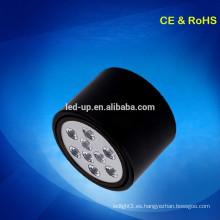 IP44 Larga vida útil Montaje en superficie luz de techo LED 9w WW / PW / CW