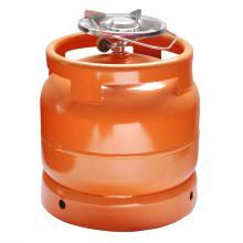 Réservoir d'essence en acier & GPL gaz cylindre - 6kg (au Nigéria)