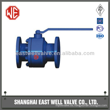 Válvula de bola flotante de acero forjado