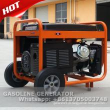 Início elétrico com bateria gerador de gasolina 8500