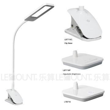 LED Panel Light Table Lamp with Clamp Base (LTB718C)