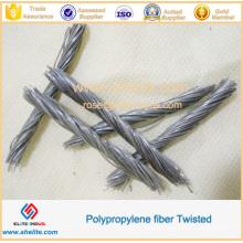 PP Twisted Bundle Fiber 48mm 54mm for Concrete Anti-Cracking