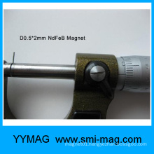 High quality detector tiny magnet/mini magnet/micro magnet
