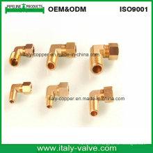 Codo de bronce forjado de la compresión de la compresión igual (IC-9011)