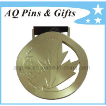 Custom Zinc Medal with Gold Plating