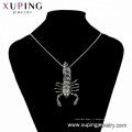 33530 xuping fashion black gun couleur cool Unique design personnalisé cool pendentif Scorpion