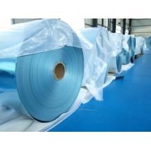Material de aleta de folha de alumínio hidrófilo usado no ar condicionado