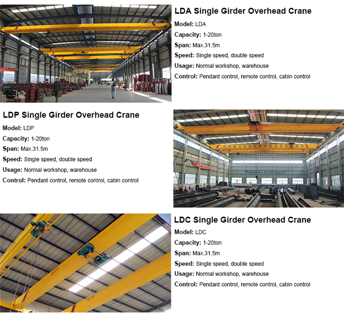new type traveling overhead crane
