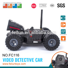 Voiture cool! 4CH contrôle android voiture rc vidéo détective voiture rc avec caméra vidéo