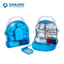 SKB5B007 Econômico Kit de Primeiros Socorros de Plástico de Armazenamento Pequeno À Prova D 'Água