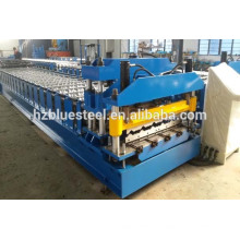 Hot Designed Automatic Corrugated And IBR Roof Sheet Roll Forming Machine, Chinese Manufactuer Roof Tile Roll Forming Machine