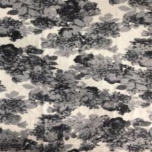 Tejido con estampado floral nano