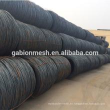 Materia prima para la fabricación de clavos de alambre de hierro negro