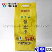 Tamaño y color personalizado paquete de alimentos de arroz con mango