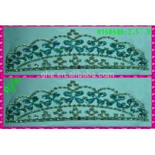 Новые дизайны Оптовые Тиара Новые короны Rhinestone тиары и короны