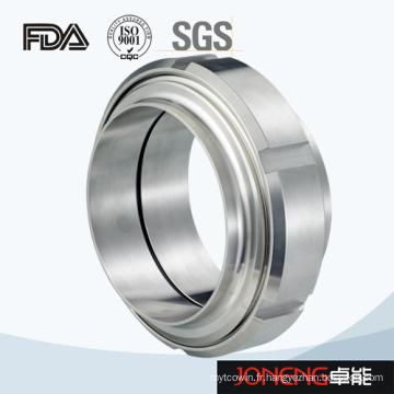 Acier inoxydable 6 Slot Hygienic Union Pipe Fitting (JN-UN2002)