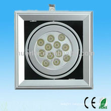 High quality hot sell aluminum iron cover 18w led grille light indoor use
