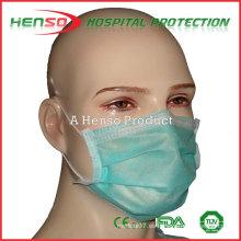 HENSO Máscara facial quirúrgica desechable médica