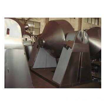 Nylon Granules Cone Vacuum Drying Machine with GMP Standard
