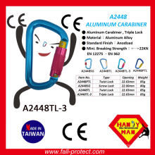 2017 High Quality Climbing Aluminum Carabiner With Ce Certificate