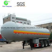 Semirremolque de contenedores con capacidad de 24m3 y medio Ahf