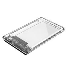 ORICO 2.5 pulgadas Tipo-C Transparente unidad de disco duro 5 Gbps Superspeed