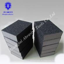 bloque de esponja de lijado de espuma de carburo de silicio