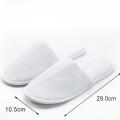 Coral fleece luxury disposable slippers anti-slip sole