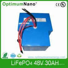 Batterie de LiFePO4 48V 30ah, batterie au lithium pour le chariot de golf