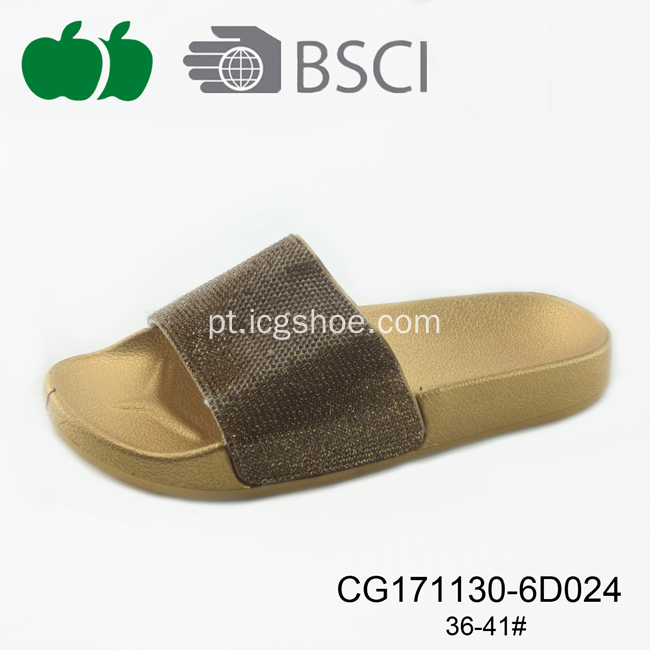 New Design Summer Women Plastic Pcu Slippers