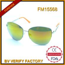 Customizadas Metal gafas de sol con lente Oriange venta por mayor en China