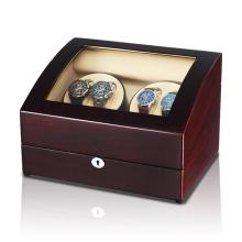 luxury watch winder with circle rubber cup