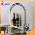 Novos produtos torneira de cozinha de cume de água quente e fria de aço inoxidável