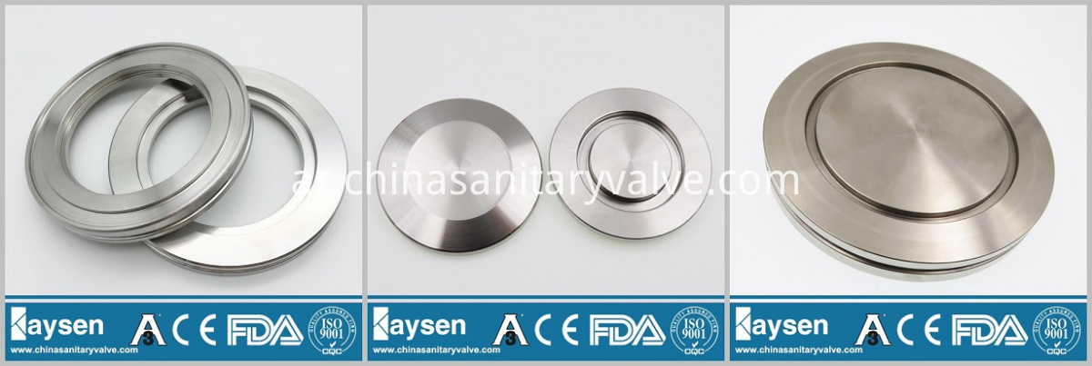 KF ISO Blank Flanges