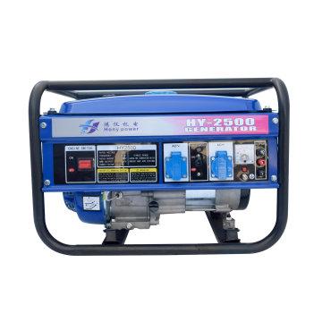 Honypower (China) Hy2500e 2kw 2kVA Novo Design De Fio De Cobre Portátil Gerador De Gasolina Elétrica Portátil