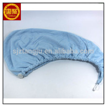 China wholesale microfiber hairdressing towels, 26*65cm plush microfiber hair towel