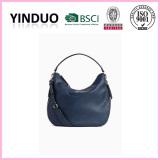 2017 fashion korean new brands personalized standard size shoulder bags women jute blank genuine leather tote bag custom printed