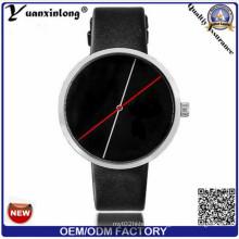 Yxl-540 Fashion Watch with Stainless Steel Case Back Japanese Movement Leather Strap Fashion Man Triwa Man Watch Reloj