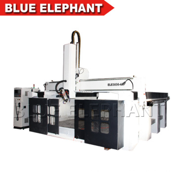 China price 4 axis wood cnc router , foam cutting cnc router machine for mold making