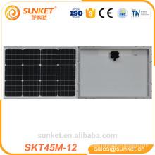 45watt 48 watt mono crystalline photovoltaic solar panel